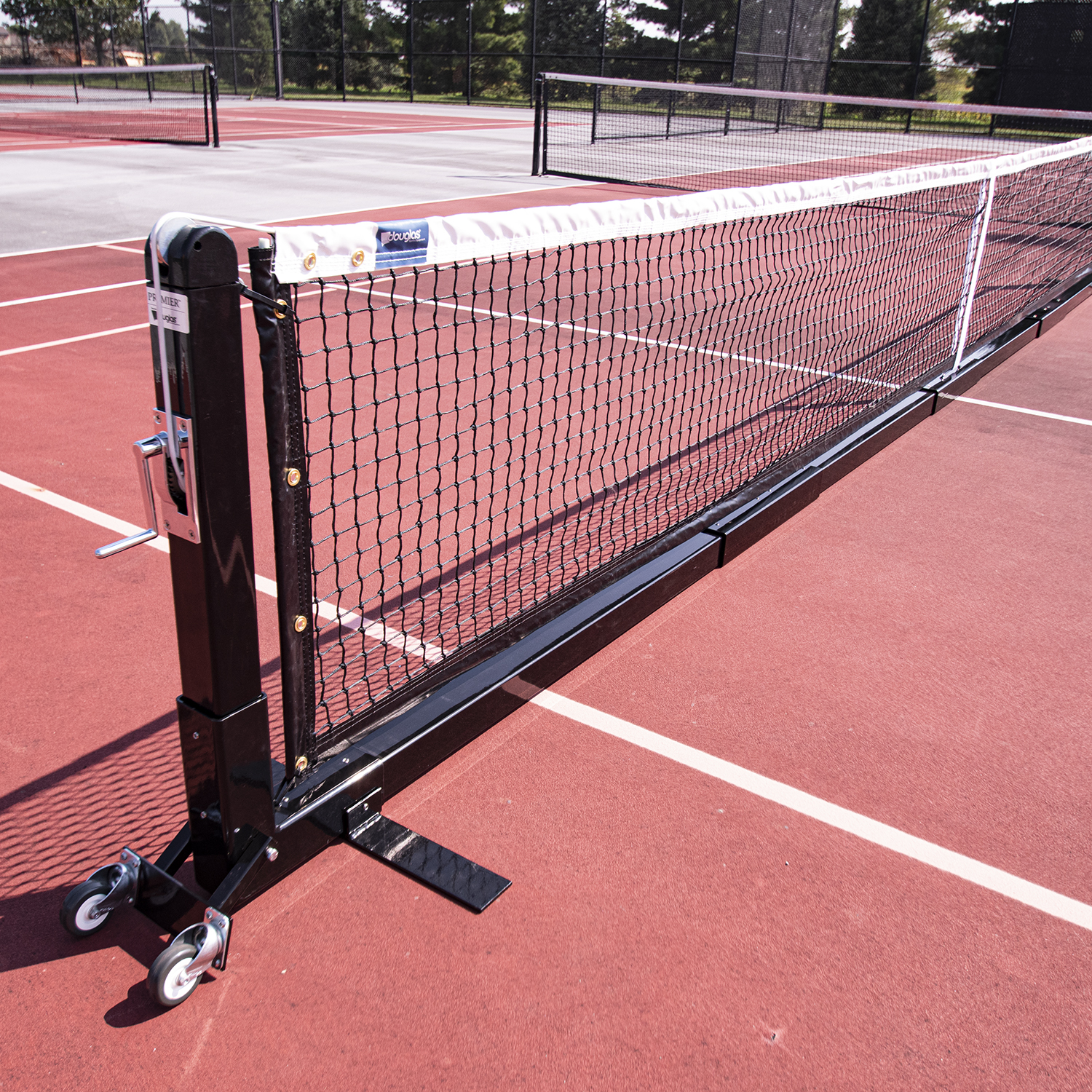 Douglas Premier Pps22 Sq Portable Pickleball System National Sports Products
