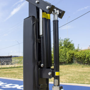 (2) Lift-assist Cylinders